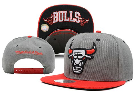 Chicago Bulls NBA Snapback Hat SD28
